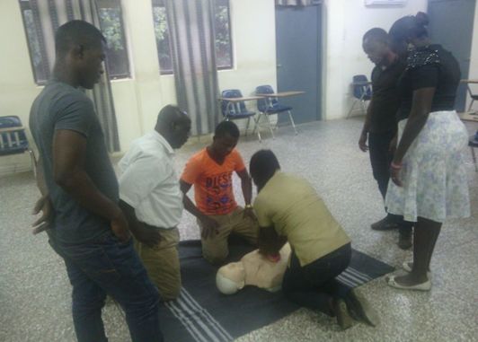 GSS celebrates H&S week in Ghana