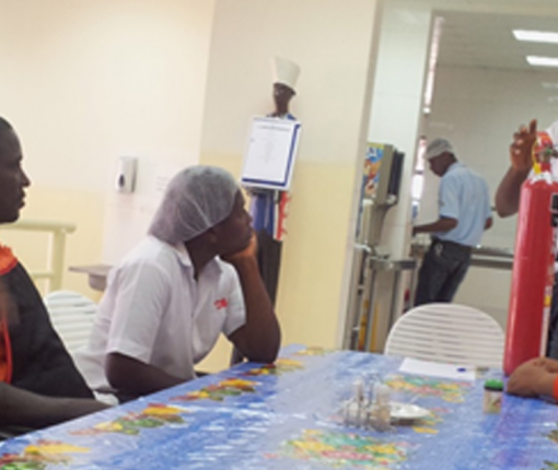 GSS celebrates H&S week in Ghana