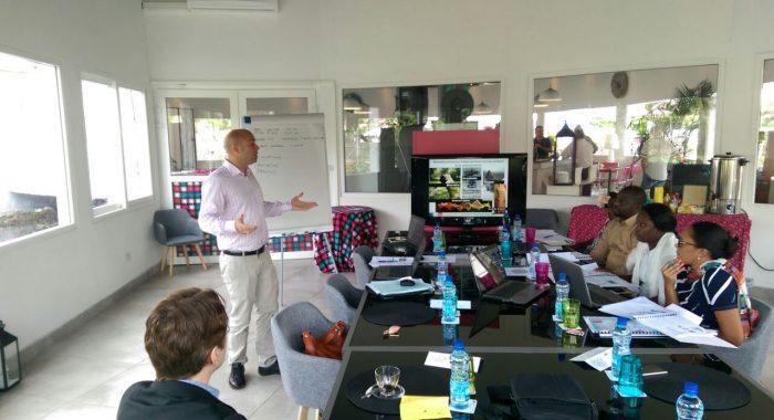 Management training in GSS Gabon